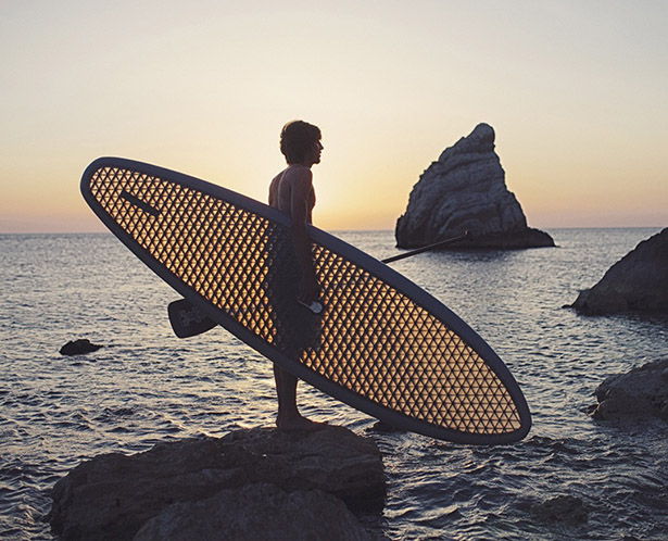 A Paddle-Board That Shines