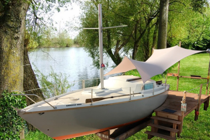A Second Life on Land for Old Boats