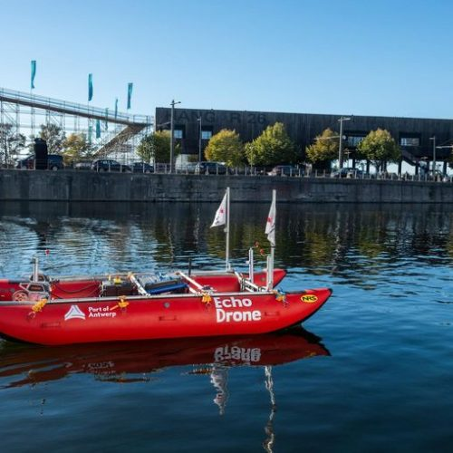 Antwerp's Autonomous Sounding Vessel