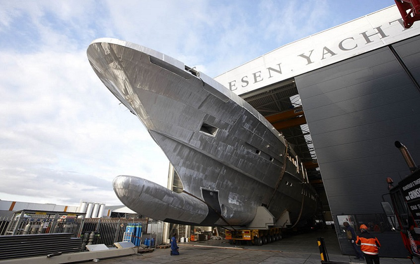 Cosmos—Another Success for Dutch Superyacht Builders